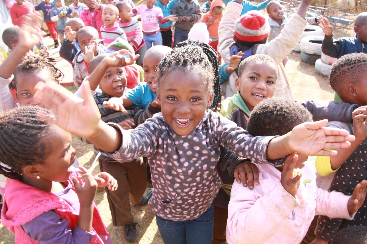 soweto, village, happiness